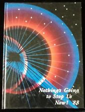 Franklin High School Yearbook 1988 Franklin NE