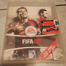 Fifa08 ps3 game good condition playstation australia