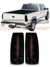 88-98 Chevy GMC CK Suburban Yukon Escalade Altezza Tail Lights Black Smoke Pair