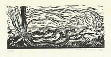 """""""Roots"""" Leon Gordon Miller - Limited Edition Signed Wood Engraving - Exquisite"""