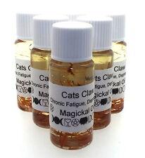 de gato Herbal Magia Unción 10ml Aceite Chronic Fatiga DEPRESIÓN