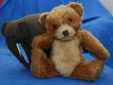 RARE Beautiful 1930's Merrythought Two Tone Mohair Bingie Bear Pyjama Case