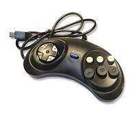 Sega Mega Drive MegaDrive Replacement 6 Button Controller Joypad UK