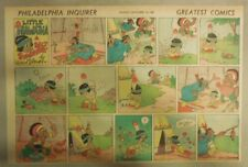 Little Hiawatha Sunday Page by Walt Disney from 9/14/1941 Half Page Size