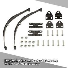 1/10 Rock Crawler Steel Leaf Spring Suspension for D90 Traxxas HSP RC4WD K9A7