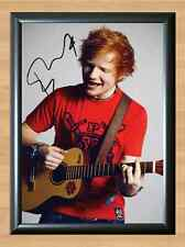 ED SHEERAN A Team Signed Autographed A4 Print Poster Photo cd dvd ticket shirt