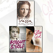 Tressa The 12 Year Old Mum,Bought and Sold ,Cellar Girl 3 Books Set Pack NEW