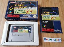 Super Nintendo SNES Eric Cantona Football Challenge PAL