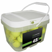 48 Titleist AVX Yellow Mint Used Golf Balls AAAAA *In a Free Bucket!*