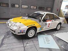 OPEL Manta B 400 Rallye Safari 1985 #2 Aaltonen Gr.B Eurohändler WM OTTO 1:18