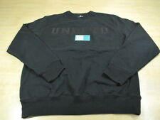 UNDEFEATED UNDFTD BAR LOGO CREWNECK SWEATER BLACK XL PLAY DIRTY 5 STRIKES
