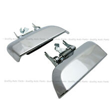 Chrome Rear Left Right Outer Silver Tailgate Handle For Nissan Pathfinder R51
