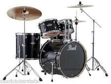 Pearl EXX725SC31 Export 5-Piece Drum Set, Jet Black