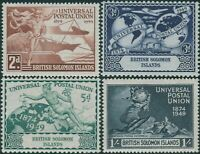 Solomon Islands 1949 SG77-80 UPU set MLH
