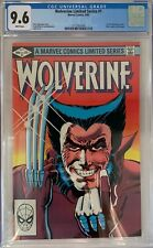 Wolverine Limited Series #1 CGC 9.6 1st solo Wolverine comic!KEY ISSUE!L@@K!