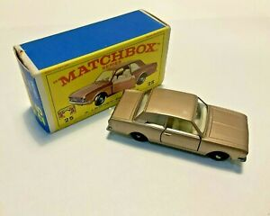 Lesney Matchbox #25 Ford Cortina with original box