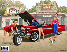 """Master Box 24015 24016 24017 """"A short stop"""" PIN-UP series Kit № 1/2/3 Scale 1/24"""