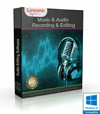 MUSIC & AUDIO RECORDING & EDITING, MULTI-TRACK  SOUND STUDIO (Digital Download)