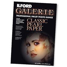 ILFORD GALERIE Classic Pearl Paper professional inkjet photo range 30 fogli A4