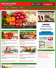 Healthy Eating Website Business For Sale Work From Home Business Opportunity