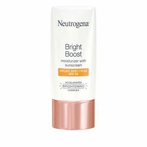 Neutrogena Bright Boost Facial Moisturizer with Broad Spectrum, 1.0 fl. oz