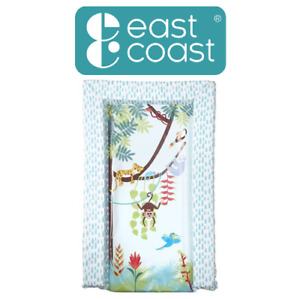 East Coast Nursery Tropical Friends Padded Wipe Clean Baby Changing Mat