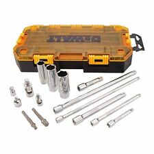 "DEWALT DWMT73807  TOUGH BOX 15 PIECE 1/4"" AND 3/8"" DRIVE ACCESSORY TOOL KIT"