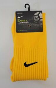 Nike Classic Cushion Knee High Socks Soccer Socks Men 8-12 Women 10-13