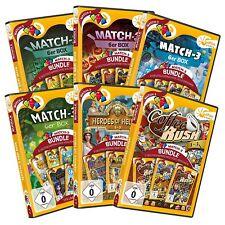 Match 3 Mega Bundle 30 Spiele auf 6 DVDs Sunrise Games PC Spiel Neu & OVP