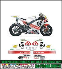 kit adesivi stickers compatibili r1 r6  moto gp  abarth