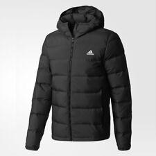 New Adidas Mens HELIONIC DUCK DOWN JACKET BLACK BQ2001 PARKA PUFFER M-2XL TAKSE
