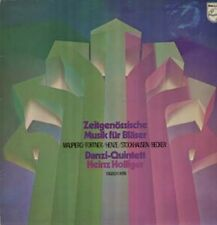 Stockhausen, Malipiero, Henze - Danzi Quintett, Holliger Philips Avantgarde LP