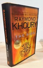 RAYMOND KHOURY THE SIGN SIGNED 1st PRINTING NEW & UNREAD