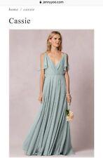 NWT JENNY YOO Bridesmaid Dress, Cassie Sz 6, Morning Mist