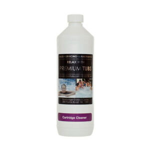 1 Litre Cartridge FILTER Cleaner - Hot Tub - Spa - Jacuzzi - Lay Z Spa - Pools