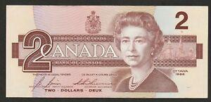 1986 CANADA 2 DOLLAR NOTE