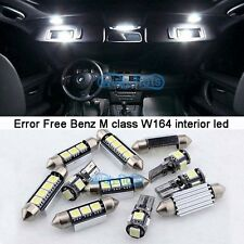 15Pcs White LED Interior Light Kit For 2006-2011 Mercedes Benz M class W164  M