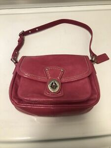 Coach Pink Patent Leather Shoulder Bag F0973-F14283
