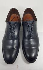 """Allen Edmonds """"Park Avenue"""" Cap Toe Oxfords  sz 11 Black Mens Shoes narrow"""