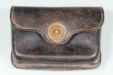 US WW1 MP Military Police Leather First Aid Pouch Case. Nice & Hard To Find.