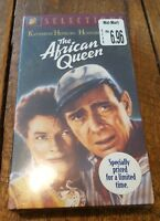 THE AFRICAN QUEEN, VHS, 1997, NTSC, COLOR, HEPBURN, BOGART, BRAND NEW