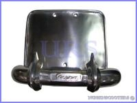 VESPA NUMBER PLATE HOLDER - REAR BUMPER PLATE ALLOY VBB VBA RALLY SPRINT