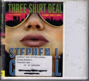 Three Shirt Deal by Stephen J. Cannell (2007) CD Complete & Unabridged  8 CDs