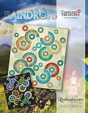 Raindrops Foundation Paper Piecing pattern by Judy Niemeyer