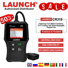Automotive OBD2 CAN EOBD Scanner LAUNCH Code Reader Clear Fault Diagnostic Tool