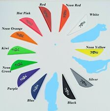"100 BLAZER VANES 2"" CHOICE OF 9 COLORS MIX AND MATCH"