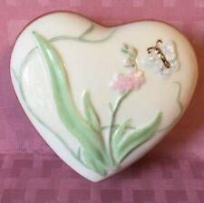 Lenox Heart Shaped Trinket Box