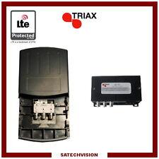 Préamplificateur et Alimentation LTE Triax EAM 218 2 Entrées VHF & UHF 18 dB