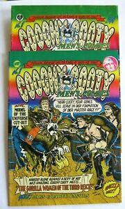 COOCHY COOTY #1 (2 lot) 1970 print mint Robt Williams free ship