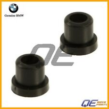 BMW E10 E30 E46 E82 E90 Genuine Set of 2 Emblem Roundel For Hood grommets